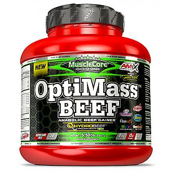 Amix Beef OPTIMASS Gainer 2.5kg (Sport , Proteins and carbohydrates)
