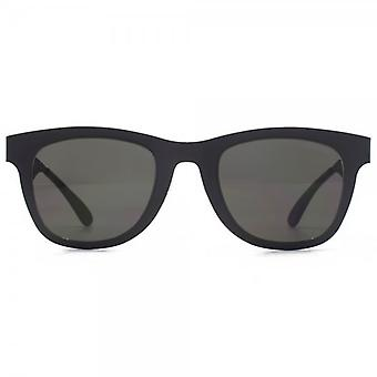 Carrera 6000 Metal Sunglasses In Mattta Black Grey Infared