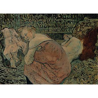 Henri Toulouse Lautrec - Two Friends Poster Print Giclee