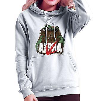 Akira Park alfa Jurassic World Owen Damska bluza z kapturem
