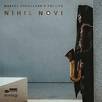 Marcus Strickland - Nihil Novi [CD] USA import
