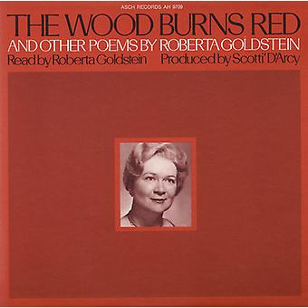 Roberta Goldstein - Wood Burns Red & Other Poems [CD] USA import