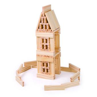 Legler Game Natural Wood Construction (Toys , Constructions , Bricks And Pieces)