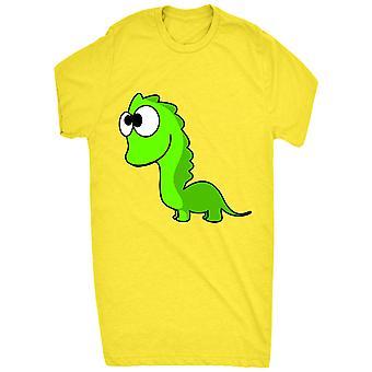 Renowned Cute Baby Green Dinosaur