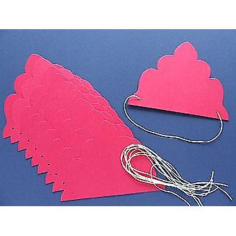 SALE - 30 Bright Pink Tiaras to Decorate | Crown Making Crafts for Kids