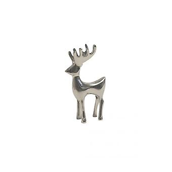 The Fashion Bible Silver Nickle Reindeer