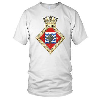 Royal Navy HMS Scotia Mens T Shirt