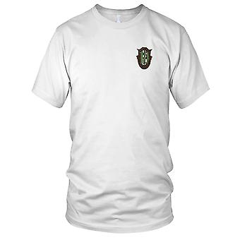 US Army - 10th Special Forces Group Crest OD Green 10 Embroidered Patch - Kids T Shirt