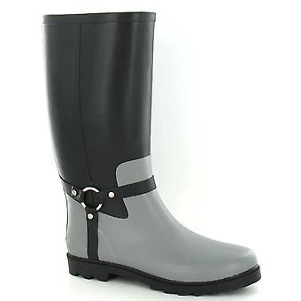 Spot On Mens Ring Strap Rubber Wellington Boots