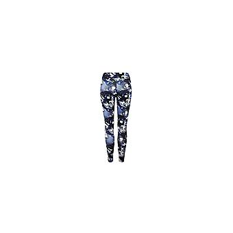Proskins Womens Proskins Muscle Supportive High Stretch Blue Leggings