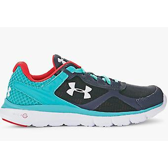 Under Armour micro G velocity run running shoes ladies