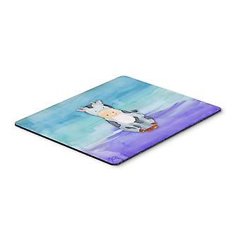 Carolines Treasures  BB7412MP Cow Watercolor Mouse Pad, Hot Pad or Trivet