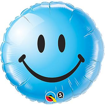 Qualatex 18 Inch Smiley Face Round Foil Balloon