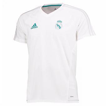2017-2018 Real Madrid Adidas Training Shirt (White)