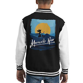 Mermaids Now Apocalypse Now Kid's Varsity Jacket