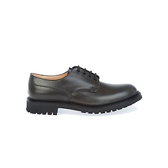 Church's men's MCNEILANTRACITE black leather lace-up shoes