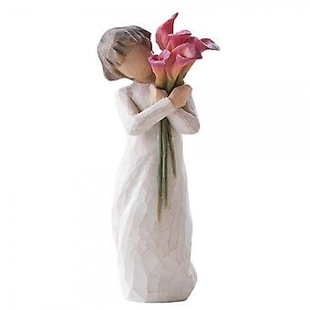 Willow Tree Bloom Hand Painted Figurine