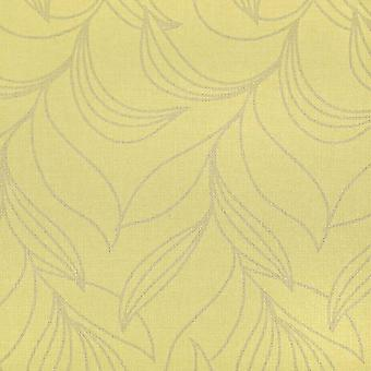 Harlequin Green & Gold Wallpaper Roll - Vinyl Fortuna Design - Colour: 60806