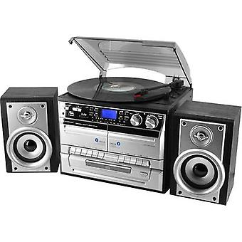 Audio system SoundMaster MCD4500 CD, AUX, Tape, SD, USB, Turntable, AM, FM, Bl