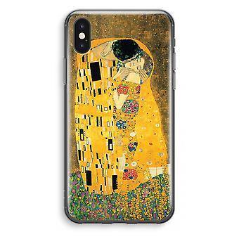 iPhone X Transparant Case - Der Kuss