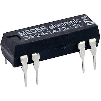 Reed relay 1 maker 24 Vdc 0.5 A 10 W DIP 8