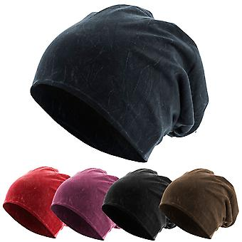 Urban Classics Stonewashed Jersey Slouch Sommer Beanie