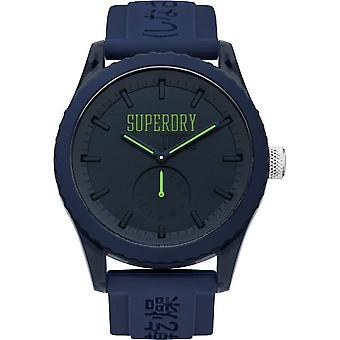 Superdry mens watch Tokyo colour block SYG145UU