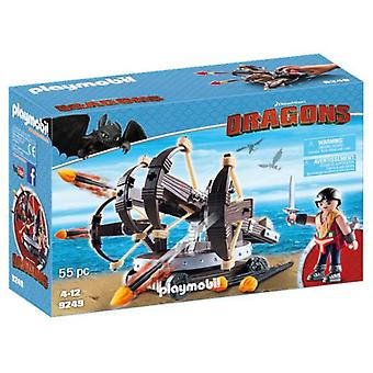 Playmobil Eret with 4 Shot Fire Ballista 9249