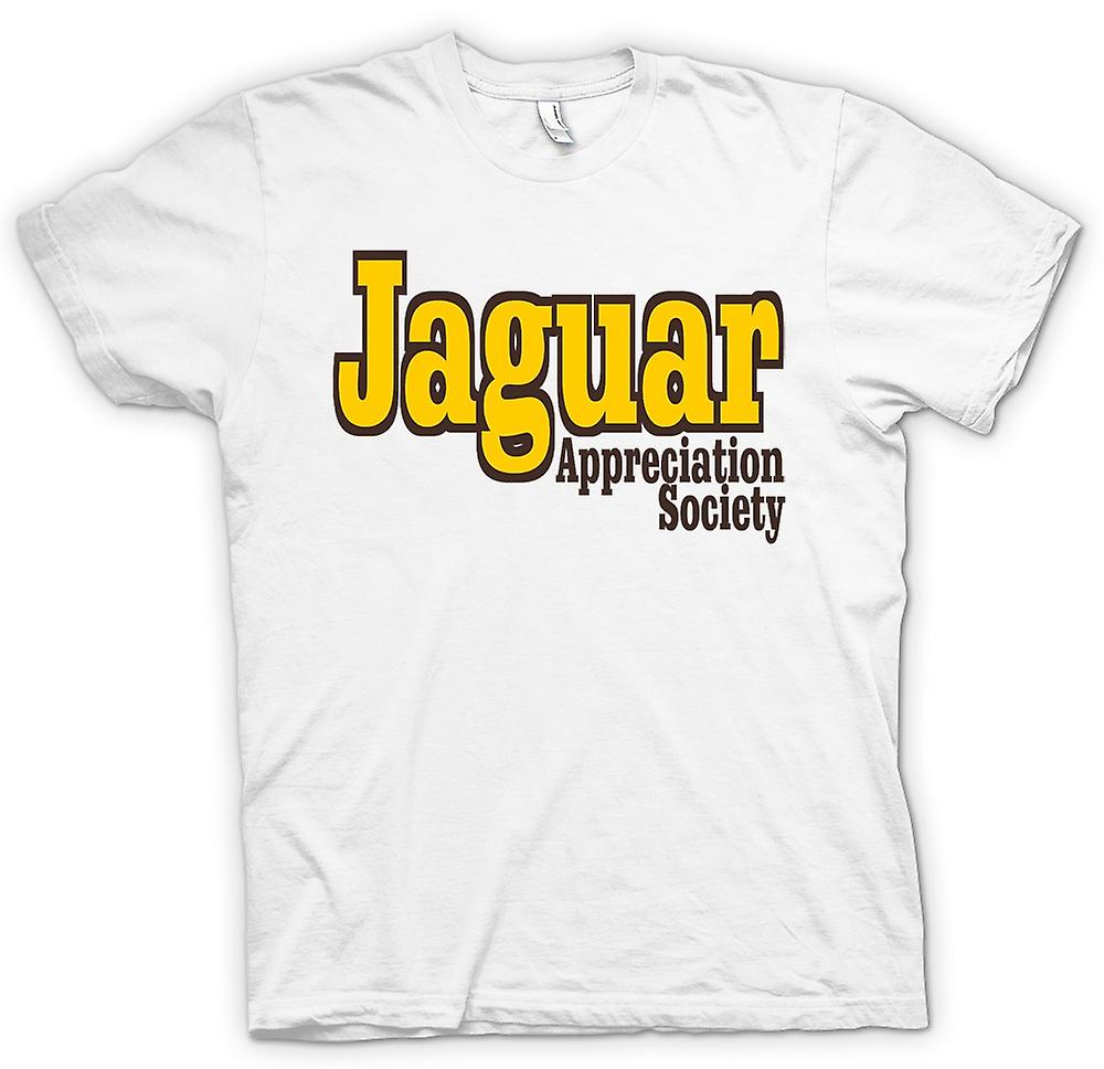 Mens T-shirt - Jaguar Appreciation Society