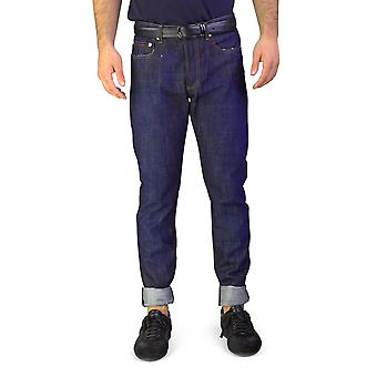 Dior Homme mäns Bleu Marine Slim Fit Denim Jeans byxa mörkblå