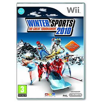 Sports d'hiver de 2010 le grand tournoi (Wii)