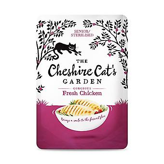 Cheshire Cat's Garden Chicken Senior/Sterilised Wet Cat Food - 1 X 85g