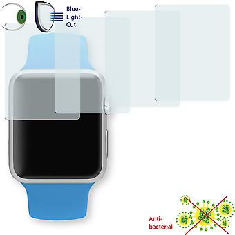 Apple Watch Sports 42mm screen protector - Disagu ClearScreen protector (deliberately smaller than the display, as this is arched)