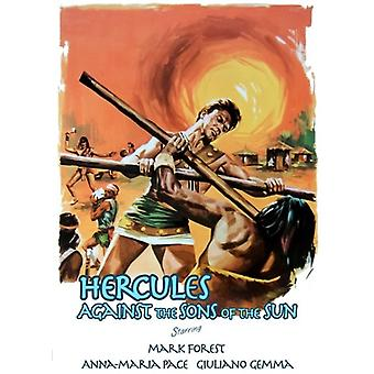 Hercules Against the Sons [DVD] USA import