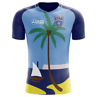 2018-2019 Guam Home Concept Football Shirt
