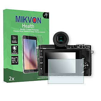 Nikon 1 V3 Screen Protector - Mikvon Health (Retail Package with accessories)