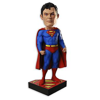 Superman Aalok figure Headknocker red, blue, made of resin, by NECA.