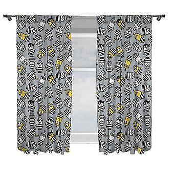 Minions Curtains 168 x 183 cm
