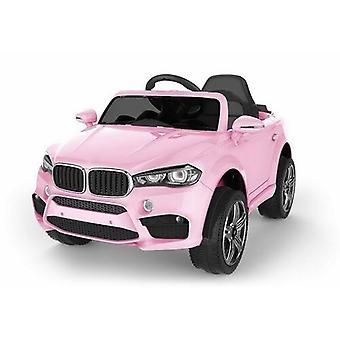 BMW X5 Style Jeep Ride On Car Pink with Parental Remote Control