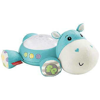 Fisher-Price Hippo plysj projeksjon smokken