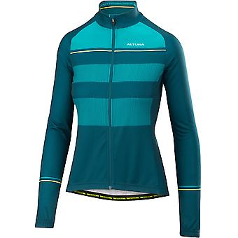 Altura Teal-Teal 2018 Airstream Womens Long Sleeved Cycling Jersey