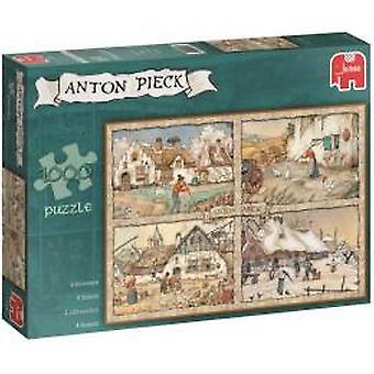Jumbo puzzle Anton Pieck seasons 1000 p