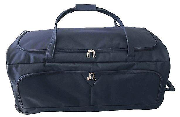 Karabar Bodiam Extra Large 36 Inch Wheeled Bag, Navy