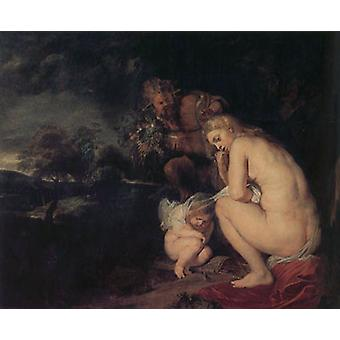Sbivering Venus, Peter Paul Rubens, 60 x 50 cm