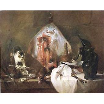 The Ray,Jean Baptiste Simeon Chardin,50x40cm