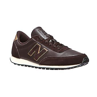 Sneaker di men New balance 410 in vera pelle marrone