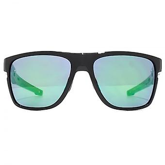 Oakley Crossrange XL Sunglasses In Polished Black Jade Iridium