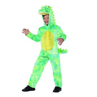 Deluxe Dinosaur Costume, Children's Animal Fancy Dress, Large Age 10-12