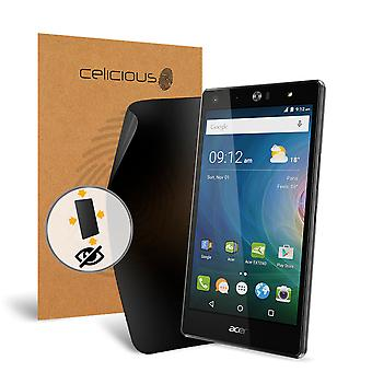 Celicious Privacy Plus 4-Way Antispion filteren Screen Protector Film compatibel met Acer Liquid X2