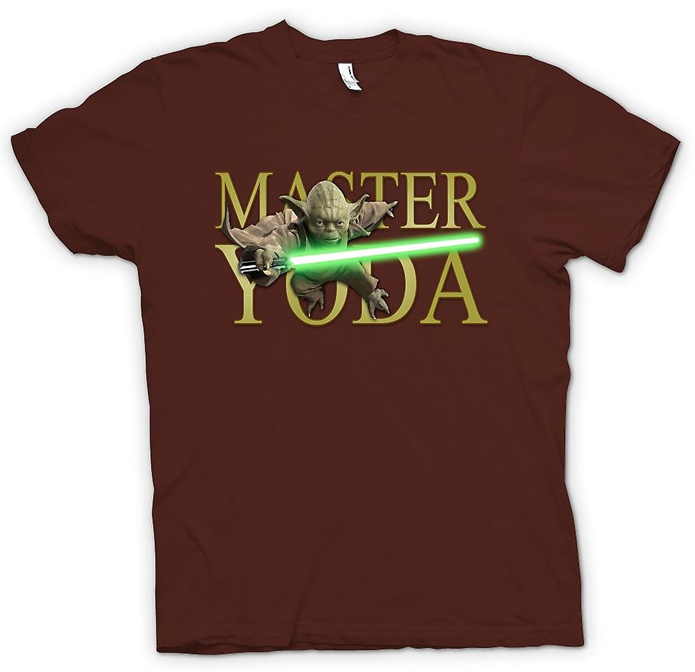 Mens T-shirt - Master Yoda - Jedi - Star Wars - film